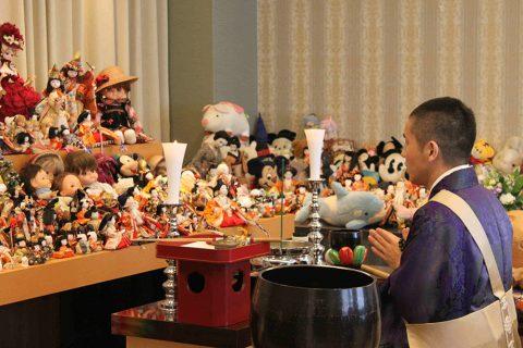 10/3(日)に「人形供養祭」を開催します